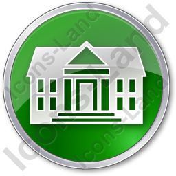 Administration Circle Green Icon, PNG/ICO, 256x256