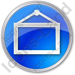 Board Circle Blue Icon