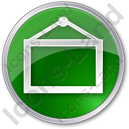 Board Circle Green Icon