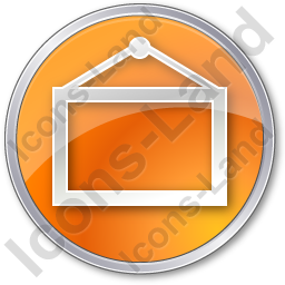 Board Circle Orange Icon