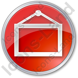 Board Circle Red Icon