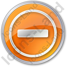 Border Crossing Circle Orange Icon, PNG/ICO, 256x256