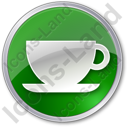 Cup Circle Green Icon, PNG/ICO, 256x256