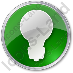 Light Circle Green Icon