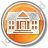 Administration Circle Orange Icon