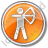 Archery Circle Orange Icon