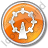 Attraction Circle Orange Icon