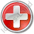 Hospital Cross Circle Red Icon, PNG/ICO, 48x48