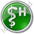 Hospital Rod Of Asclepius Circle Green Icon, PNG/ICO, 48x48