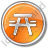 Picnic Ground Circle Orange Icon