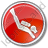 Scuba Diving Circle Red Icon, PNG/ICO, 48x48
