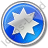 Star Circle Blue Icon