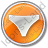 Underwear Circle Orange Icon