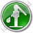 Water Pump Circle Green Icon