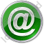 Internet Circle Green Icon