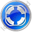 Lifebuoy Circle Blue Icon