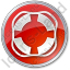 Lifebuoy Circle Red Icon