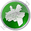 Map District Circle Green Icon