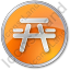 Picnic Ground Circle Orange Icon, PNG/ICO, 64x64