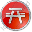 Picnic Ground Circle Red Icon, PNG/ICO, 64x64