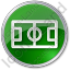 Pitch Circle Green Icon