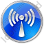 Radio Circle Blue Icon