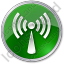 Radio Circle Green Icon