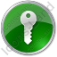 Security Circle Green Icon