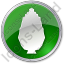 Shrub Circle Green Icon