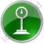 Weight Circle Green Icon