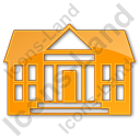 Administration Plain Orange Icon