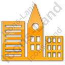 City Plain Orange Icon