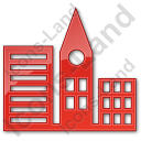 City Plain Red Icon