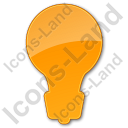 Light Plain Orange Icon