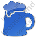 Pub Plain Blue Icon