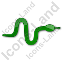 Snake Plain Green Icon