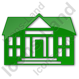 Administration Plain Green Icon