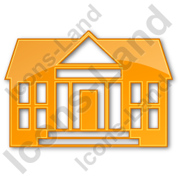 Administration Plain Orange Icon, PNG/ICO, 256x256