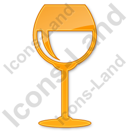 Bar Wine Plain Orange Icon, PNG/ICO, 256x256