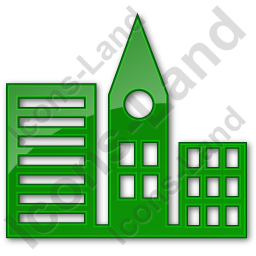 City Plain Green Icon