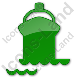 Port Ship Plain Green Icon, PNG/ICO, 256x256