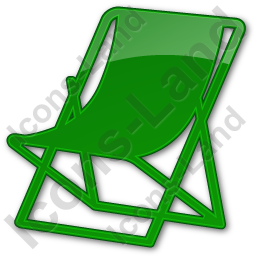 Resort Plain Green Icon
