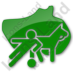 Sports Plain Green Icon, PNG/ICO, 256x256