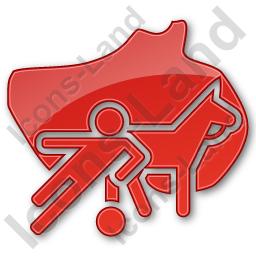 Sports Plain Red Icon
