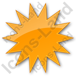 Sunny Plain Orange Icon