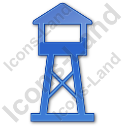 Watchtower Plain Blue Icon
