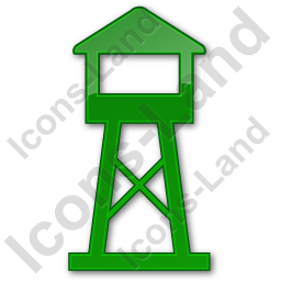 Watchtower Plain Green Icon