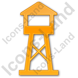 Watchtower Plain Orange Icon