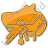 Sports Plain Orange Icon