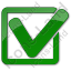 Approved Plain Green Icon